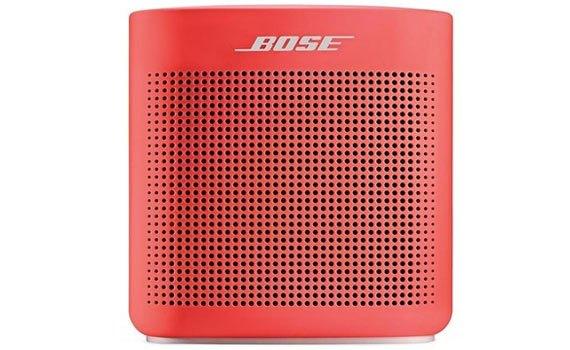 Loa Bose Soundlink Color II màu đỏ kiểu dáng nhỏ gọn hợp thời trang