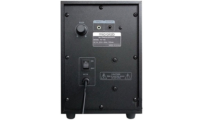 Loa vi tính Microlab M-108 công suất lớn