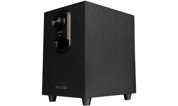 Loa vi tính Microlab M-108 màu đen