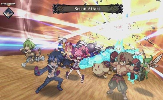 Đĩa game PCAS00041 Disgaea 5 có hình ảnh đầy ấn tượng
