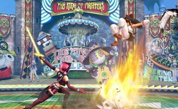 Đĩa game PLAS05183 The King of Fighter sở hữu nội dung ấn tượng