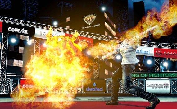 Đĩa game PLAS05183 The King of Fighter có hình ảnh đầy ấn tượng
