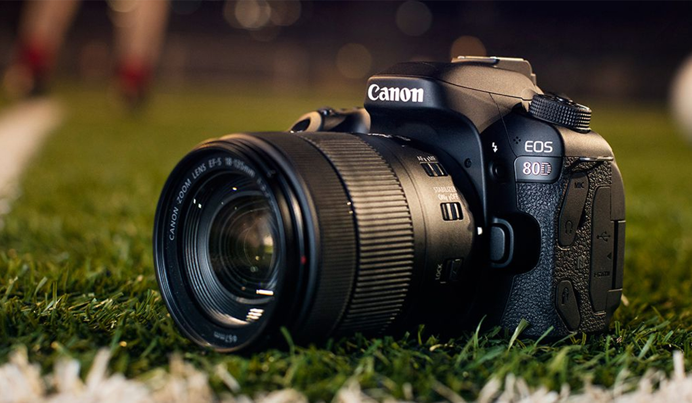 Máy ảnh Canon EOS 80D KIT 18-55MM 24.2MP