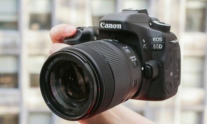 Máy ảnh Canon EOS 80D KIT 18-55MM dải iso rộng