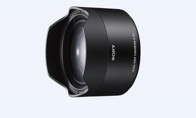Kính chuyển đổi góc rộng Sony SEL075UWC||QSYX nhỏ gọn