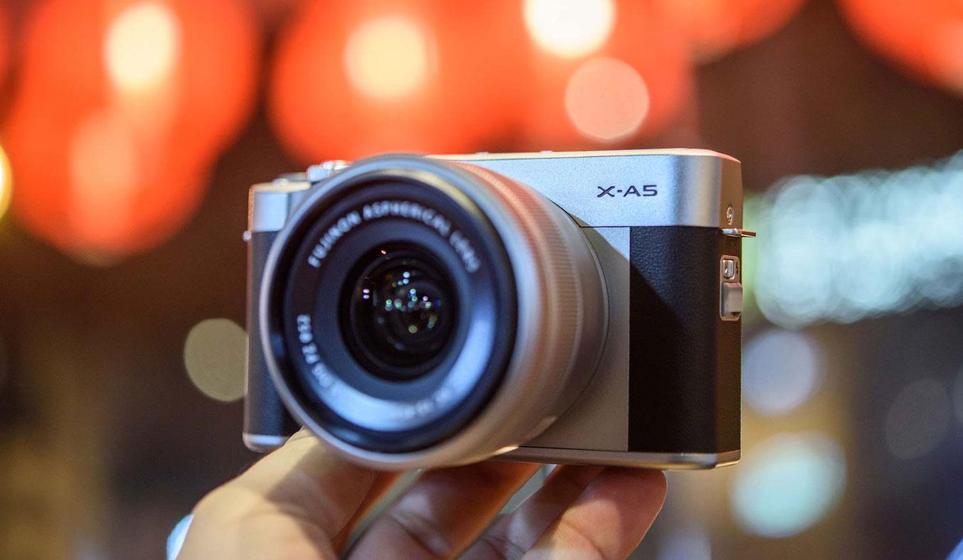 Máy ảnh Fujifilm X-A5 thiết kế nhỏ gọn