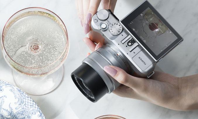 Máy ảnh Fujifilm X-A5 hiện đại