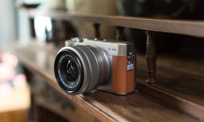Máy ảnh Fujifilm X-A5 kết nối nhanh