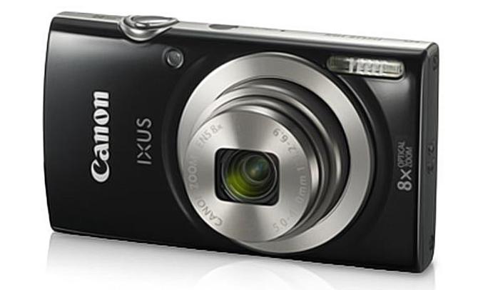 Máy ảnh Canon IXUS 185 màu đen hình ảnh chân thực