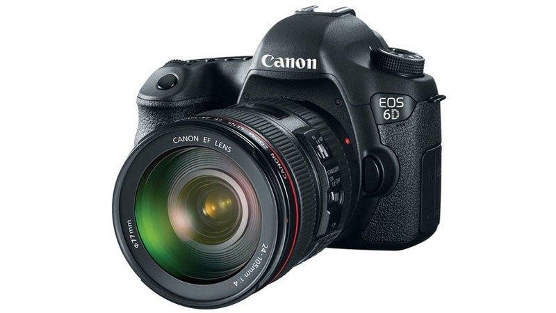 máy ảnh Canon EOS 6D có cảm biến full frame