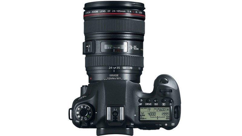 máy ảnh Canon EOS 6D cho chất lượng video tuyệt đẹp