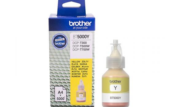 Mực in phun Brother BT5000Y được làm từ chất liệu cao cấp