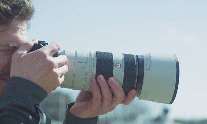 Ống kính góc rộng Sony SEL1224G SYX hiện đại