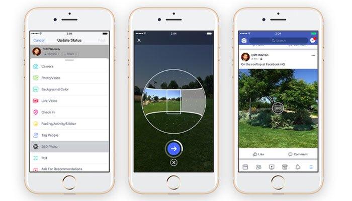 Tải ảnh bìa 360 độ trên Facebook bằng điện thoại