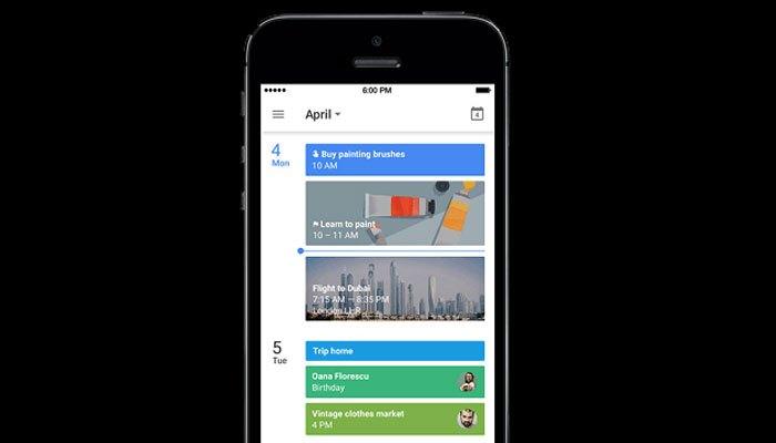 Sắp xếp công việc, lưu trữ lịch trình quan trọng nhanh chóng với ứng dụng Google Calendar trên iPhone