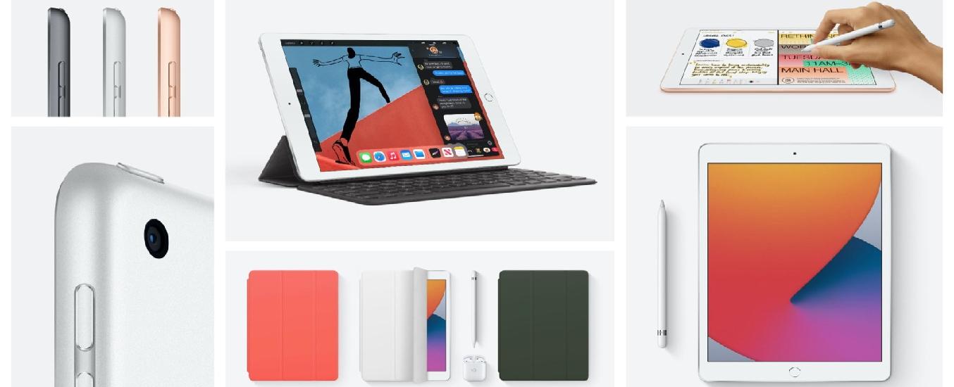 Máy tính bảng iPad 10.2 inch Wifi 32GB MYLA2ZA/A Bạc (2020) - Thiết kế thời thượng, nhỏ gọn, thuận tiện mang theo đến mọi nơi