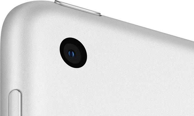 Máy tính bảng iPad 10.2 inch Wifi 32GB MYLA2ZA/A Bạc (2020) - Camera 8MP