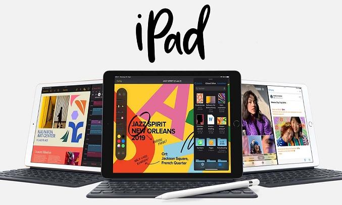 Máy tính bảng iPad 10.2 inch Wifi 32GB MYLA2ZA/A Bạc (2020) - iPadOS 14 với nhiều tính năng mới