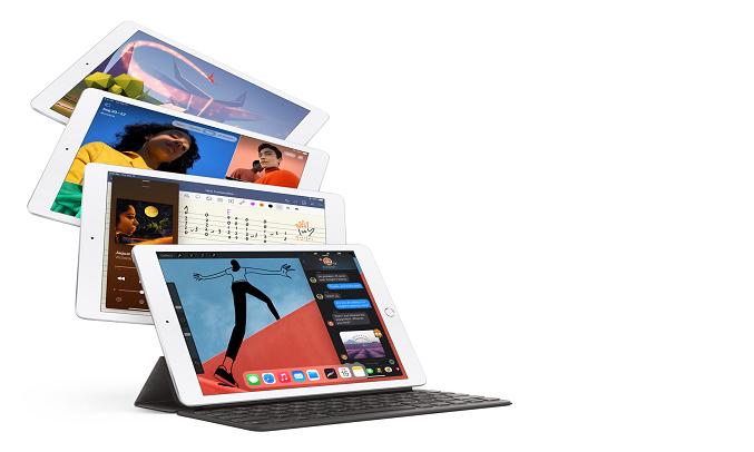Máy tính bảng iPad 10.2 inch Wifi 32GB MYLA2ZA/A Bạc (2020) - Thời lượng pin 10 tiếng