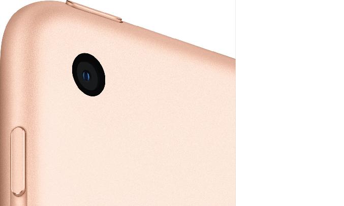 Máy tính bảng iPad 10.2 inch Wifi 32GB MYLC2ZA/A Vàng (2020) - Camera sau 8MP
