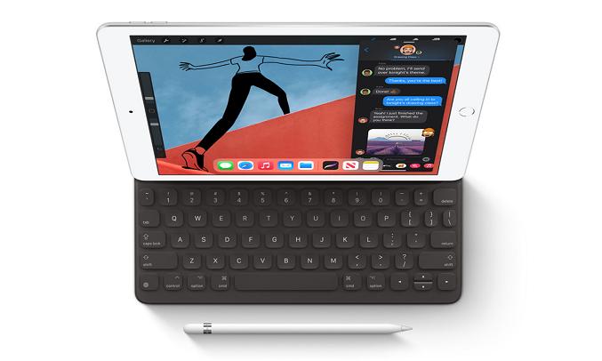 Máy tính bảng iPad 10.2 inch Wifi 32GB MYLC2ZA/A Vàng (2020) - Hỗ trợ bút Apple Pencil và Smart Keyboard