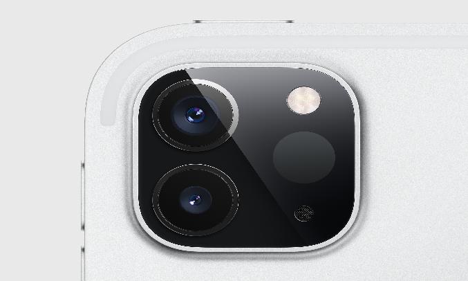 Máy tính bảng iPad Pro 11 inch Wifi 256GB MXDC2ZA/A Xám (2020) - Camera đa tính năng
