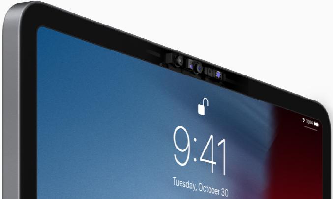 Máy tính bảng iPad Pro 11 inch Wifi 128GB MY252ZA/A Xám (2020) - Nhận diện khuôn mặt FaceID