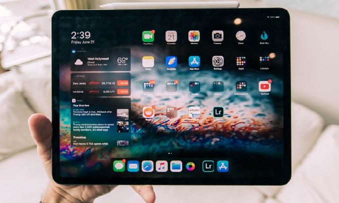 Máy tính bảng iPad Pro 11 inch Wifi 128GB MY252ZA/A Xám (2020) - Thời lượng pin lên đến 10 giờ