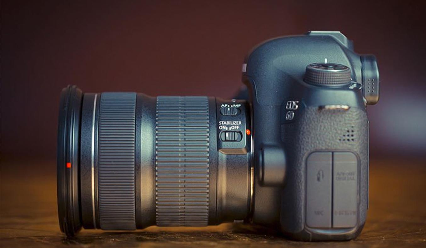 Máy ảnh Canon EOS 6D KIT EF24-105STM hiện đại