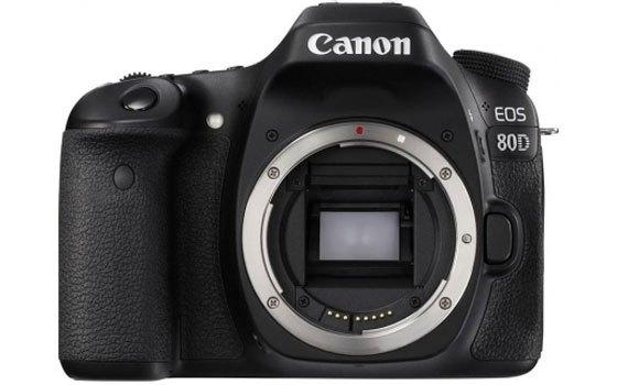 Máy ảnh ảnh Canon EOS 80D có thiết kế hiện đại, độc đáo
