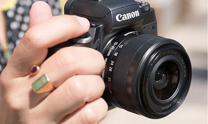 Máy ảnh Canon EOS M5 KIT 15-45MM sắc nét