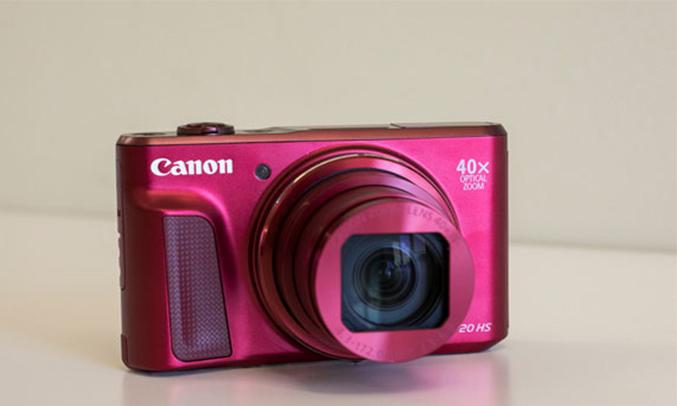 Máy ảnh Canon Powershot SX720HS thiết kế nhỏ gọn