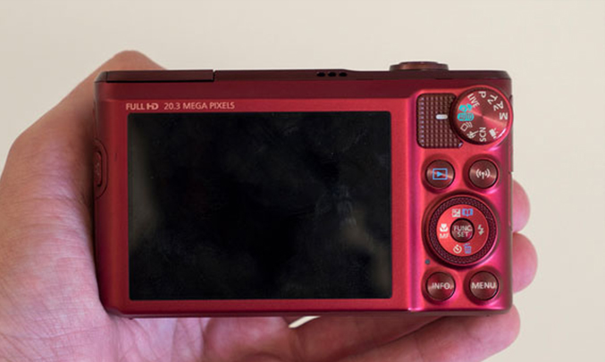Máy ảnh Canon Powershot SX720HS lấy nét nhanh