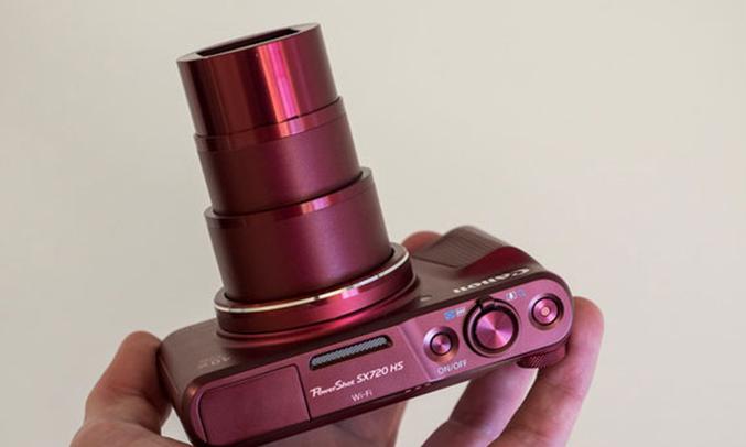 Máy ảnh Canon Powershot SX720HS tiêu cự hiệu quả