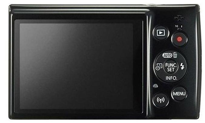 Máy ảnh Canon IXUS 190 màu đen hình ảnh chân thực