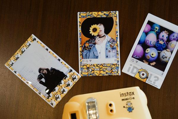 Một vài tác phẩm từ Fujifilm Instax Mini 8 Minion.