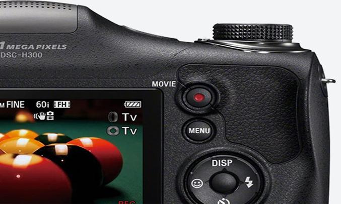 Máy ảnh Sony DSC-H300E32 có nhiều hiệu ứng hình ảnh