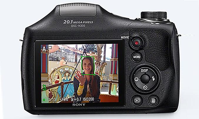 Máy ảnh Sony DSC-H300E32 chụp tối tốt