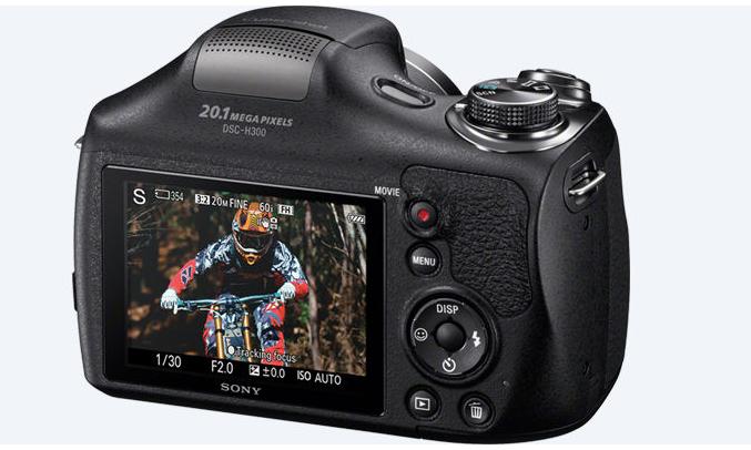 Máy ảnh Sony DSC-H300E32 cho hình ảnh sắc nét