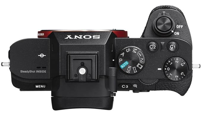 Máy ảnh Sony Alpha ILCE-72M2K các nút điều khiển được thiết kế tỉ mỉ