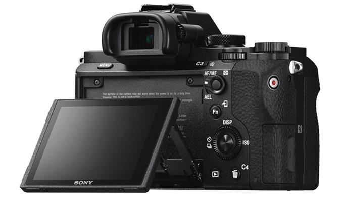 Máy ảnh Sony Alpha ILCE-72M2K màn hình LCD có thể xoay thuận tiện