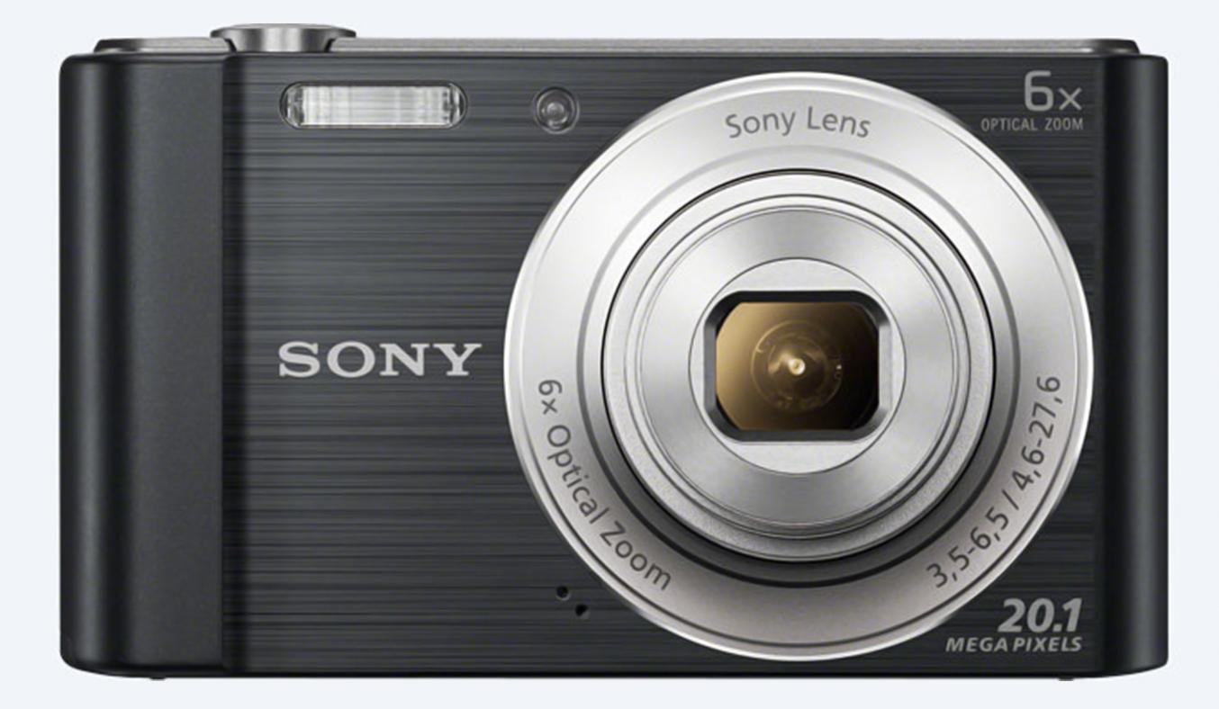 Máy ảnh Sony KTS DSC-W810/BC E32 kết nối dễ dàng