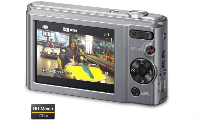 Máy ảnh Sony KTS DSC-W810/BC E32 selfie tuyệt đẹp
