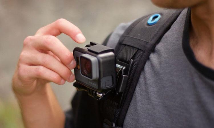 Thiết kế nhỏ gọn của GoPro giúp việc bắt trọn khoảnh khắc dễ dàng hơn
