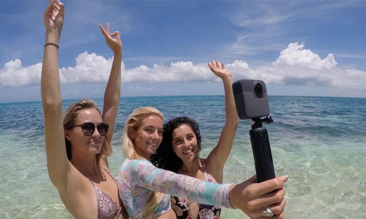 Chủ động điều khiển nhanh chóng giúp mọi thao tác với GoPro tiện lợi hơn