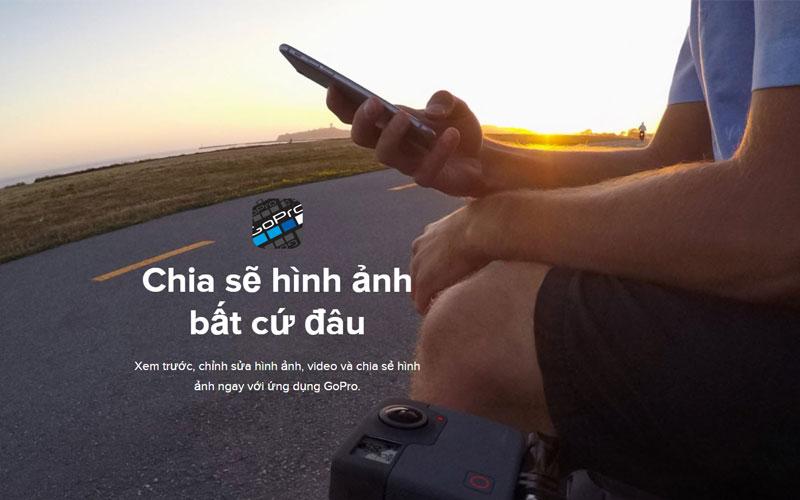 Chỉ cần có WiFi là bạn sẽ có thể đăng tải ảnh từ GoPro