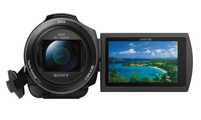 Máy quay phim Sony KTS FDR-AX40 cảm biến Exmor R® CMOS chất lượng 4K