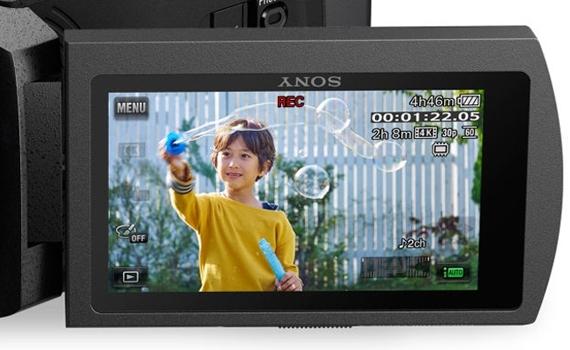 Máy quay phim Sony FDR-AXP55 với màn hình xoay 3 inches