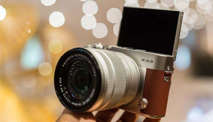 Một thiết kế đầy chuyên nghiệp và hoài cổ trên chiếc máy ảnh Fujifilm
