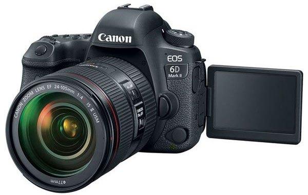 Máy ảnh Canon 6D Mark II đa dạng kết nối